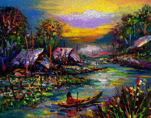 Art Painting Oil Color Northea...