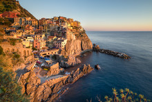 Manarola Is Is A Small Town In...