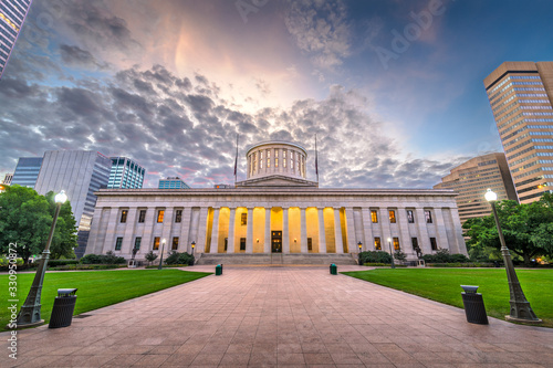 Ohio State House at Dawn Fototapet
