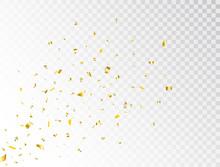 Confetti Gold Splash. Glitter ...
