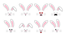 Collection Of Funny Bunnies. S...