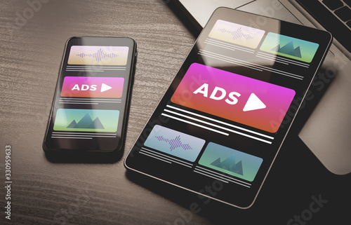 Fotomural Programmatic Advertising concept