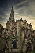 Lichfield Cathedral Looking Up