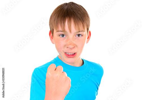 Photo Boy show a Fist
