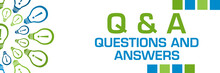 Q And A - Questions And Answer...