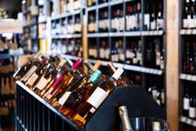 Quality Wine Bottles Waiting F...
