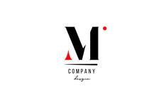 M Letter Logo Alphabet Design Icon For Company And Business