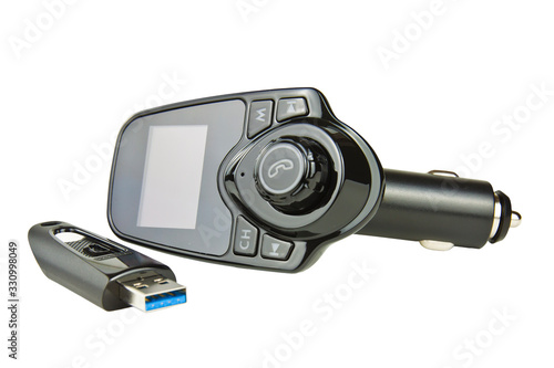 Car FM Transmitter Fototapet