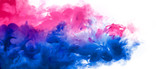 Abstract background banner with colorful ink in water. Festival of Colors. Color Explosion Paint Texture
