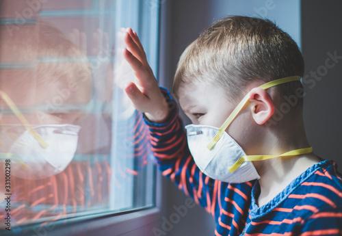 Coronavirus epidemic Canvas-taulu