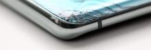 Modern Smartphone Lying At Tab...