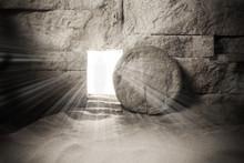Tomb Of Jesus. Jesus Christ Re...