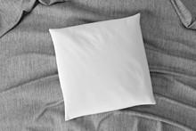 Mock Up Of A Pillow - 3d Rende...