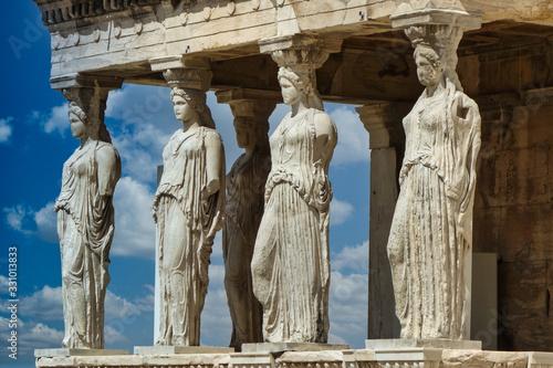 Photo L'Acropole d'Athènes en Grèce