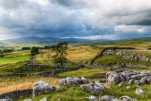 Beautiful View Over The Yorkshire Dales