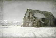 Old Barn Photos Manipulated Fo...