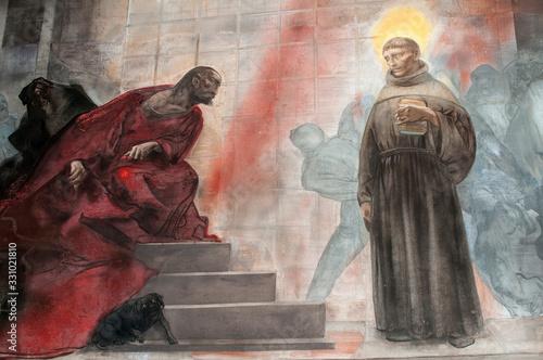Saint Anthony - Basilica of Saint Anthony of Padua, Italy Canvas Print
