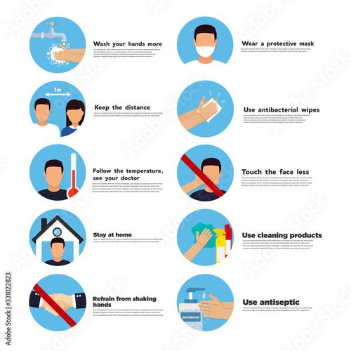 Obraz Hand sanitizers. coronavirus hygiene products stop viruses coronavirus. Hygiene product. - fototapety do salonu