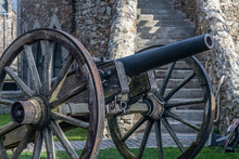 Cannon In Fortress