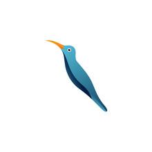Bird Logo Hipster Vintage Retro Vector Line Outline Monoline Art Icon
