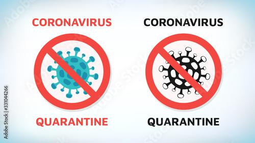 Fototapeta Coronavirus