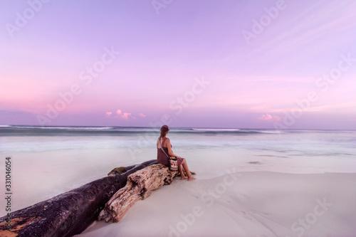 Photo Atardecer en Playa del Carmen