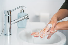 Hygiene. Cleaning Hands. Washi...