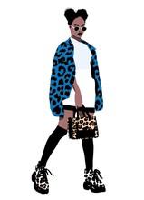 Leopard Print African Fashion ...