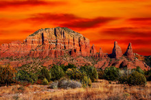 Sedona, Arizona, Cathederal Mo...
