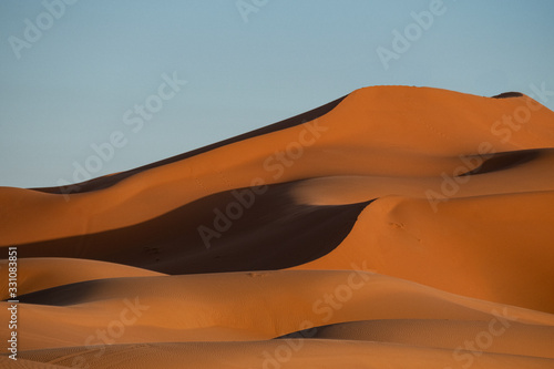 Sand Dunes at Sunset, Sahara Desert
