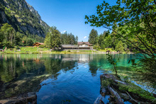 Blausee Lake In The Kander Val...