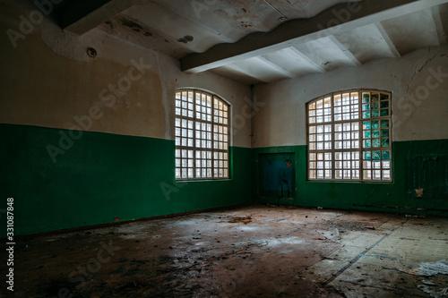 Photo Inside old Orlovka Asylum for the insane in Voronezh Region