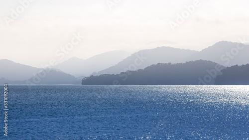 oceano tropical Canvas Print