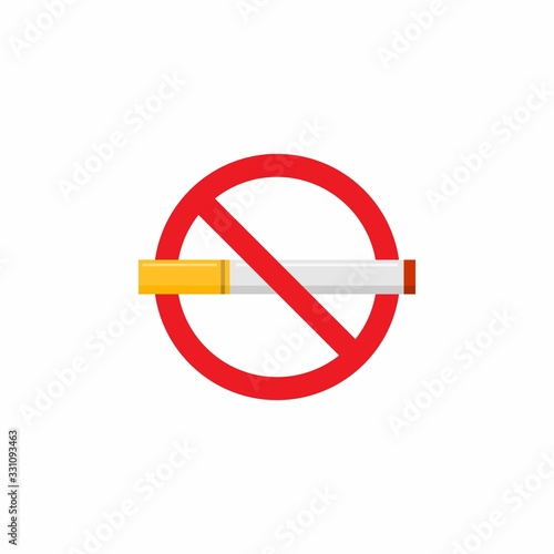 Tela No Smoking Icon : Healthcare Theme, Infographics and Other Graphic Related Assets