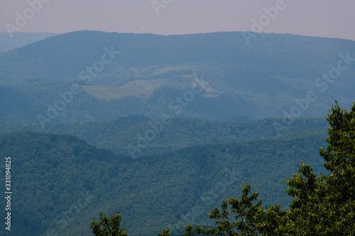 Allegheny Mountains, West Virginia Canvas Print
