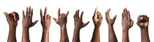 Gesturing Hands Of African-Ame...