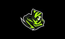 Veil Wizard Logo Icon Vector