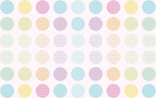 Background Geometric,Polka,D...