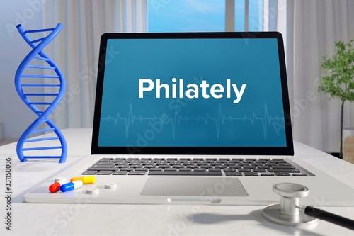 Philately – Medicine/health Fototapet