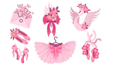 Pink Accessories For Ballet Wi...