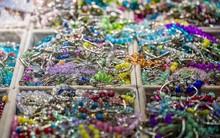 Selective Focus Shot Of Assorted Bracelets