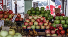 Fresh Fruits For Sale At Stree...