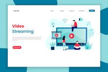 Video Streaming Service Landin...