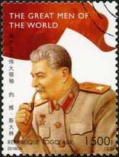 TOGO - 2018: Shows Joseph Vissarionovich Stalin Jughashvili (1878-1953), Series The Great Men Of The World, 2018