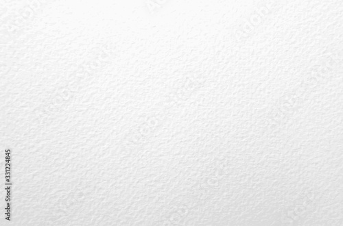 Fototapeta Watercolor paper texture. Vector white background obraz