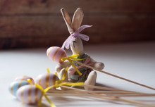 The Easter Bunny, A Toy With H...