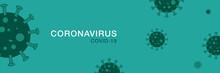 Corona Virus Banner Illustrati...
