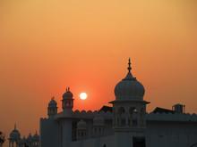 Sunset At Takhat Sri Kesgarh S...
