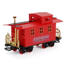 Toy Train Passenger Car Isolated On White Background