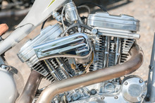 Motorcycle Engine And Exhaust ...